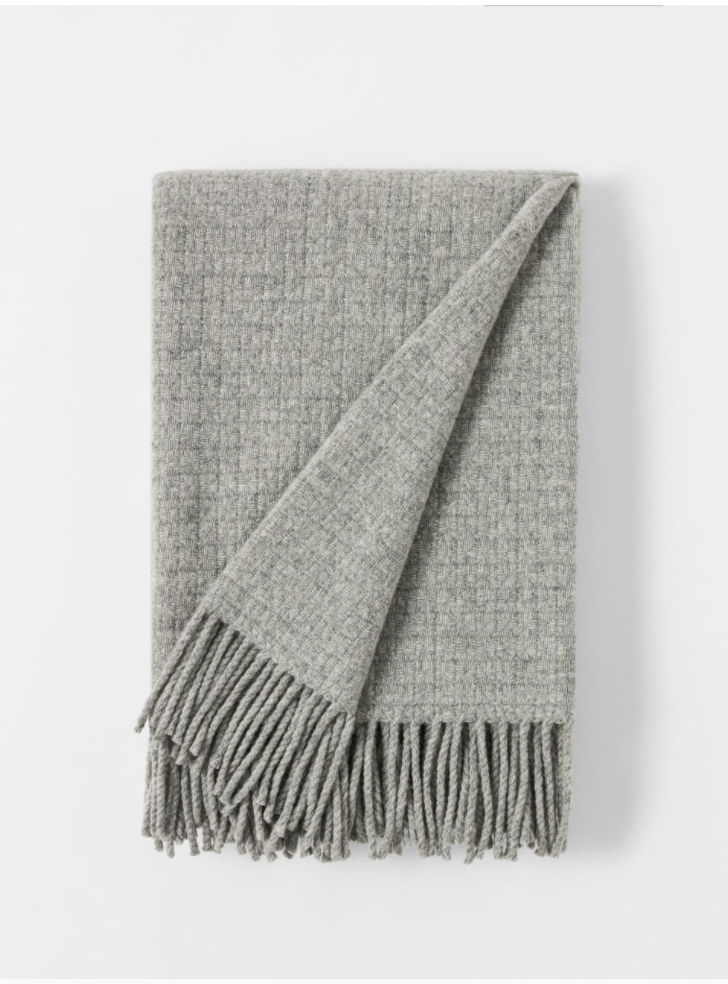 Blanket Royal light grey