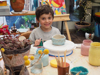 "School Holiday Workshop ""Clay Play"" ~ Friday April 9 9:30AM - 12:30PM"