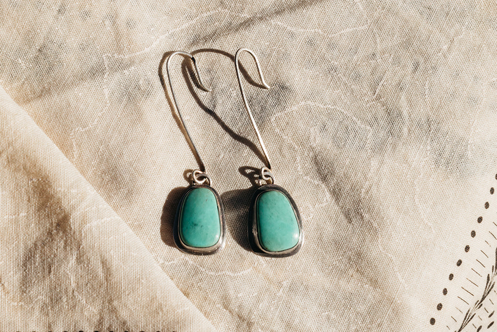 Tasman Glacier Earrings #1
