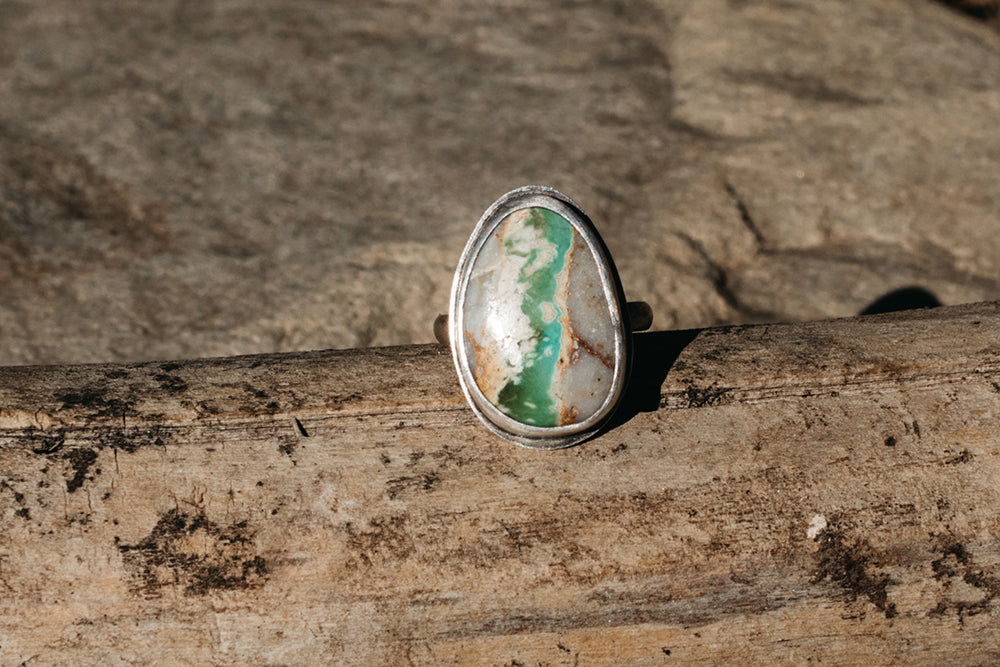 Glacial River Ring - Size 7.5