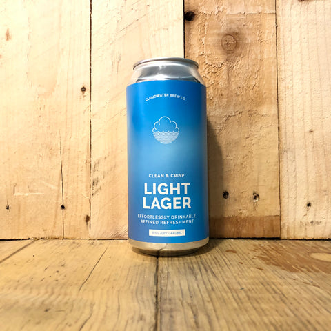 Cloudwater - Light Lager - 440ml (3.5%)