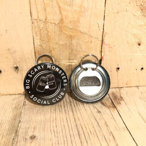BSM Social Club - Logo Bottle Opener Keyring