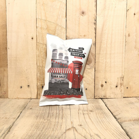 The British Crisp Co - Sea Salt crisps - 40g