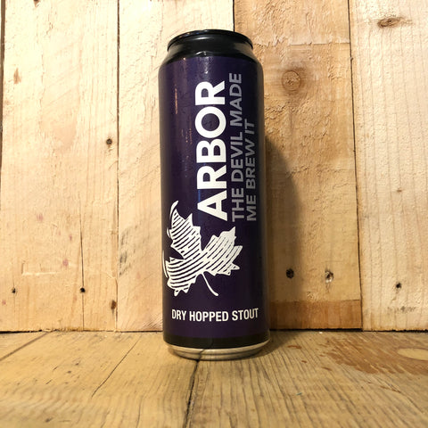 Arbor - The Devil Made Me Brew It - Oatmeal Stout - 568ml (5.5%)