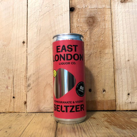 East London Liquor Co - Pomegranate and Vodka Seltzer - 250ml (4%)