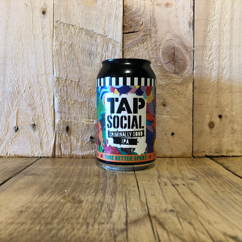 Tap Social - Time Better Spent - IPA - 330ml (5.1%)