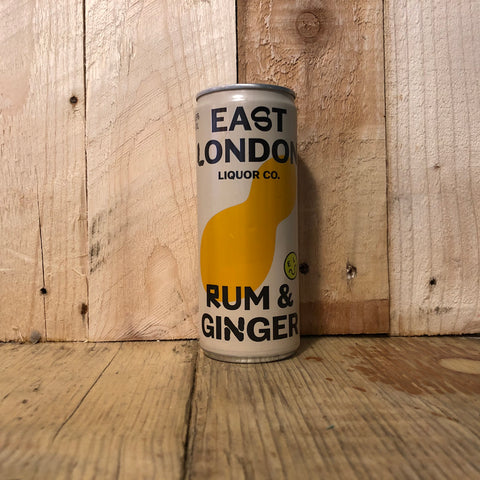 East London Liquor Co - Rum and Ginger - 250ml (4.6%)