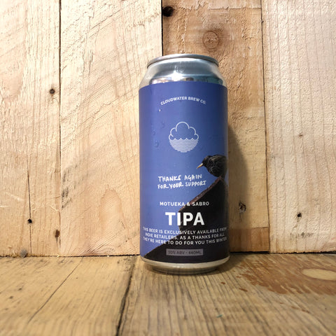 Cloudwater - Expression of Interest - TIPA - 440ml (10%)