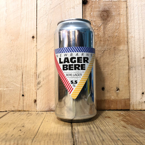 Newbarns - Lager Bere - 440ml (5.5%)