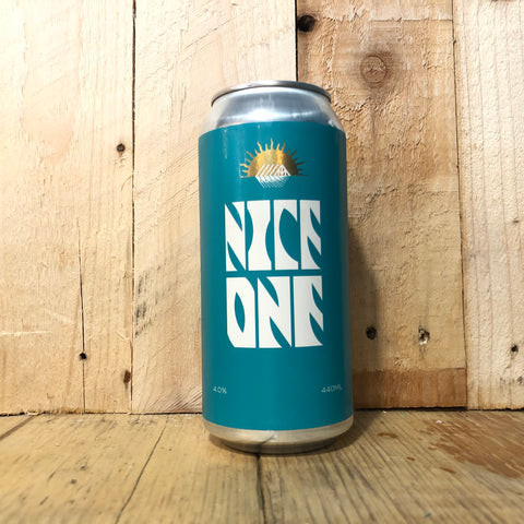 Newbarns / Sonnen Hill - Nice One - Lager - 440ml (4%)