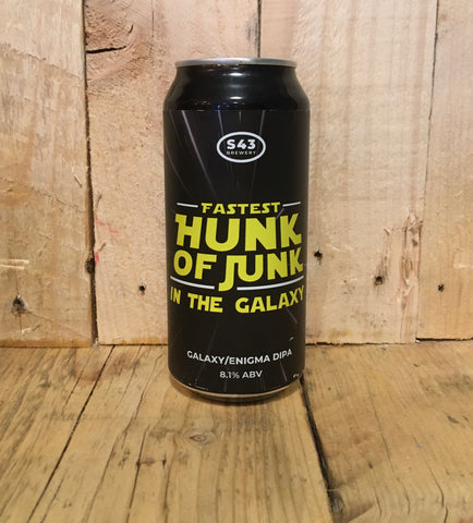 S43 - Fastest Hunk Of Junk In The Galaxy - DIPA - 440ml (8.1%)