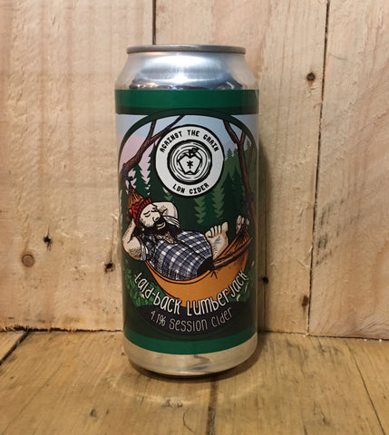 Against The Grain - Laid Back Lumber Jack - Session Cider - 440ml (4.1%)