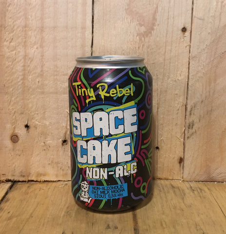 Tiny Rebel - Space Cake - Non Alcoholic Stout - 330ml (0.5%)