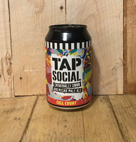 Tap Social - Cell Count - American Pale Ale - 330ml (4.5%)