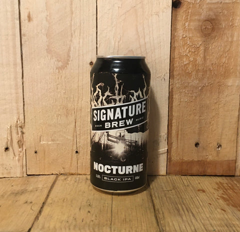 Signature Brew - Nocturne - Black IPA - 440ml (6.66%)