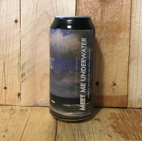 Brass Castle - Meet Me Underwater - Seaweed Red IPA - 440ml (6.5%)