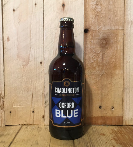 Chadlington - Oxford Blue - Blue Ale - 500ml (4.2%)