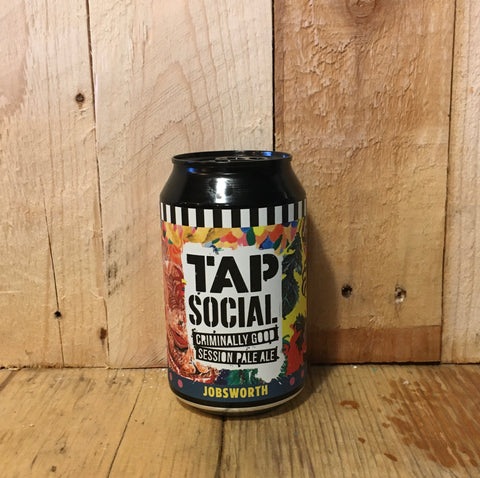 Tap Social - Jobsworth - Session Pale Ale - 330ml (3.5%)