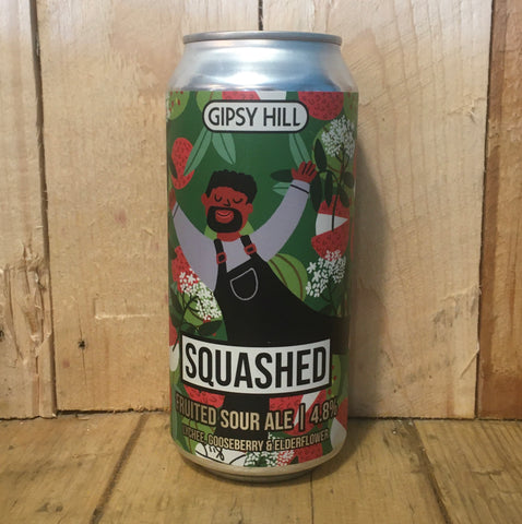 Gipsy Hill - Squashed Sour: Lychee, Gooseberry & Elderflower - 440ml (4.8%)