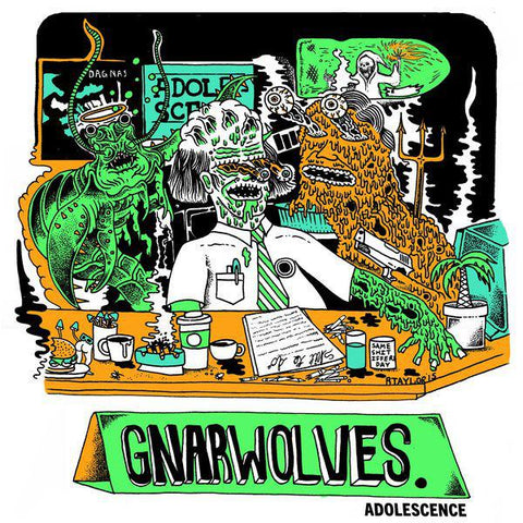 "Gnarwolves - Adolescence - 12"" EP"