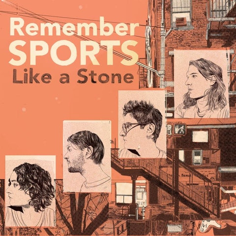 Remember Sports - Like A Stone - LP