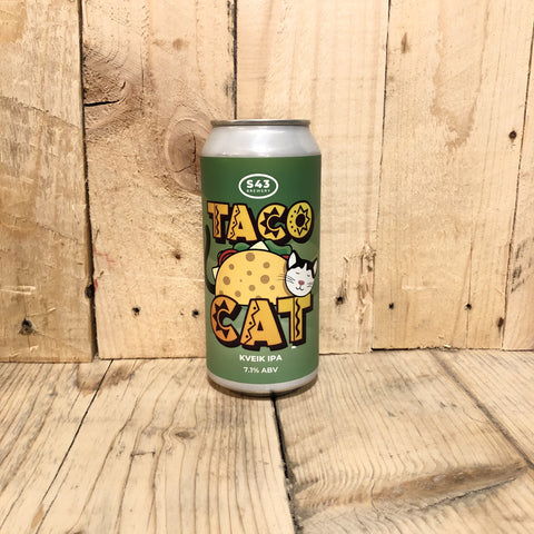 S43 - Taco Cat - IPA - 440ml (7.1%)