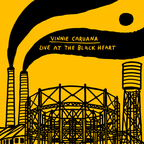 Vinnie Caruana - Live at The Black Heart - 2xLP