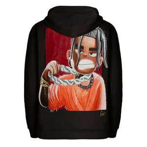 "1\1 ""CARTOON"" Canvas Hoodie"