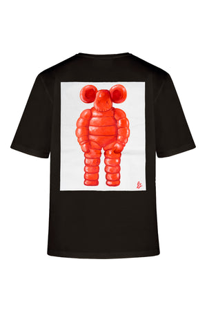 """ RED CANVAS TOY "" 1\1 Canvas t-shirt"