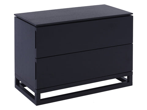 Gillmore Space Cordoba Bedside Chest of 2 Drawers Large