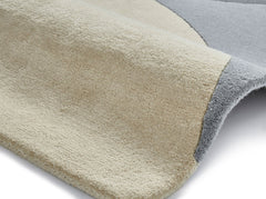 Think Rugs Hand Tufted Wool Collection - Elements EL 43 Grey