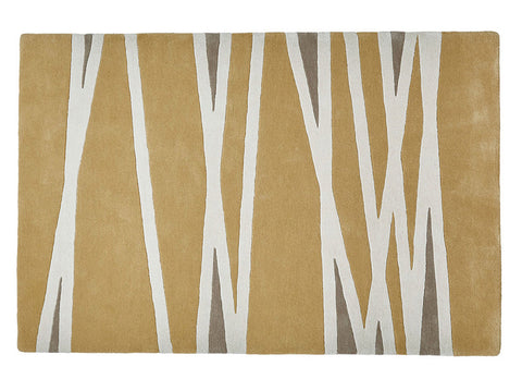 Think Rugs Hand Tufted Wool Collection - Elements EL 61 Yellow