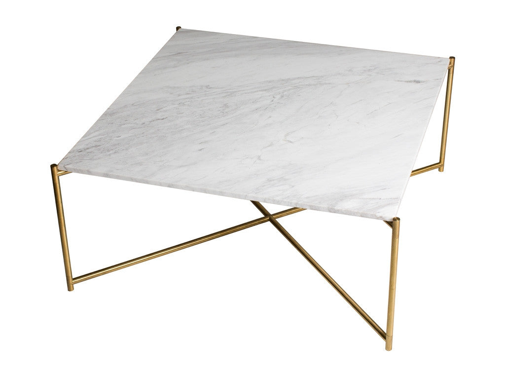 Gillmore Space Iris Square Coffee Table - Flat Top