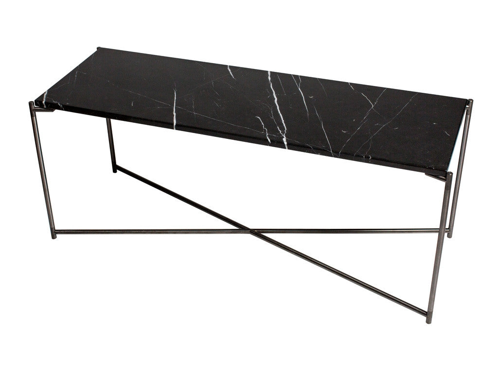 Gillmore Space Iris Large Low Console/TV Table - Flat Top