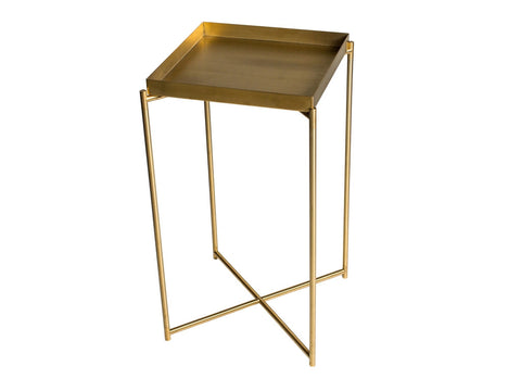 Gillmore Space Iris Square Plant Stand - Tray Top