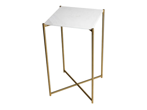 Gillmore Space Iris Square Plant Stand - Flat Top