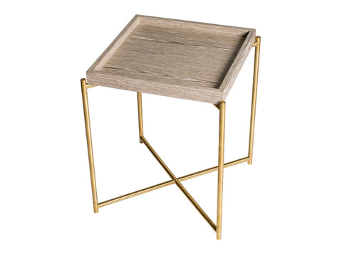 Gillmore Space Iris Square Side Table - Tray Top