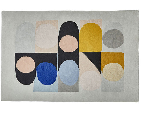 Think Rugs Designer Collection - Jazz Flute by Kristina Sostarko and Jason Odd