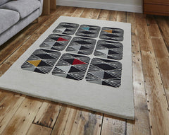 Think Rugs Designer Collection -  Night Sky by Kristina Sostarko and Jason Odd