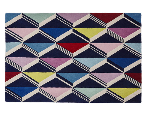 Think Rugs Designer Collection - Zig Zag by Fiona Howard