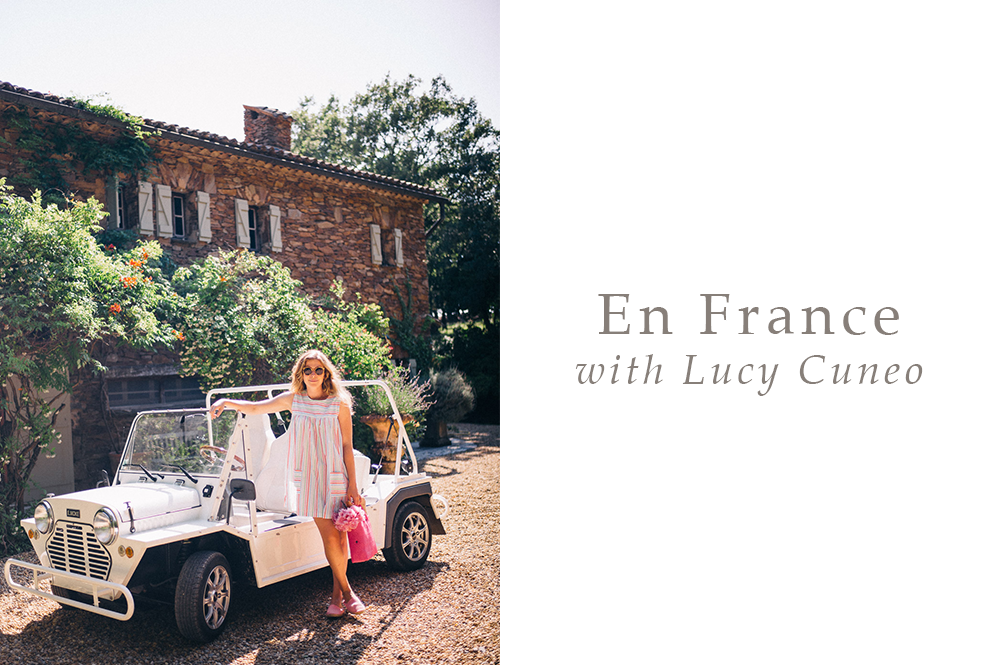 En France with Lucy Cuneo