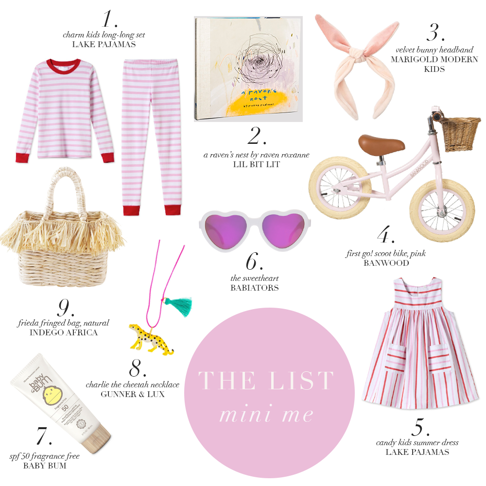 The List: Mini Me