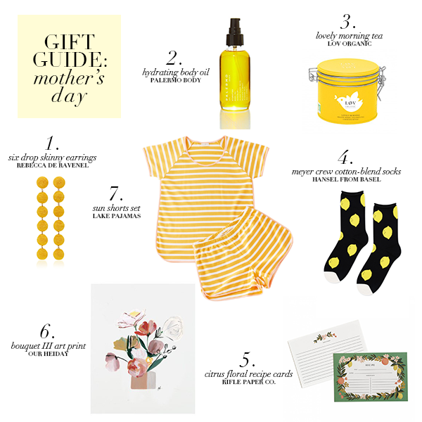 Gift Guide Mother's Day