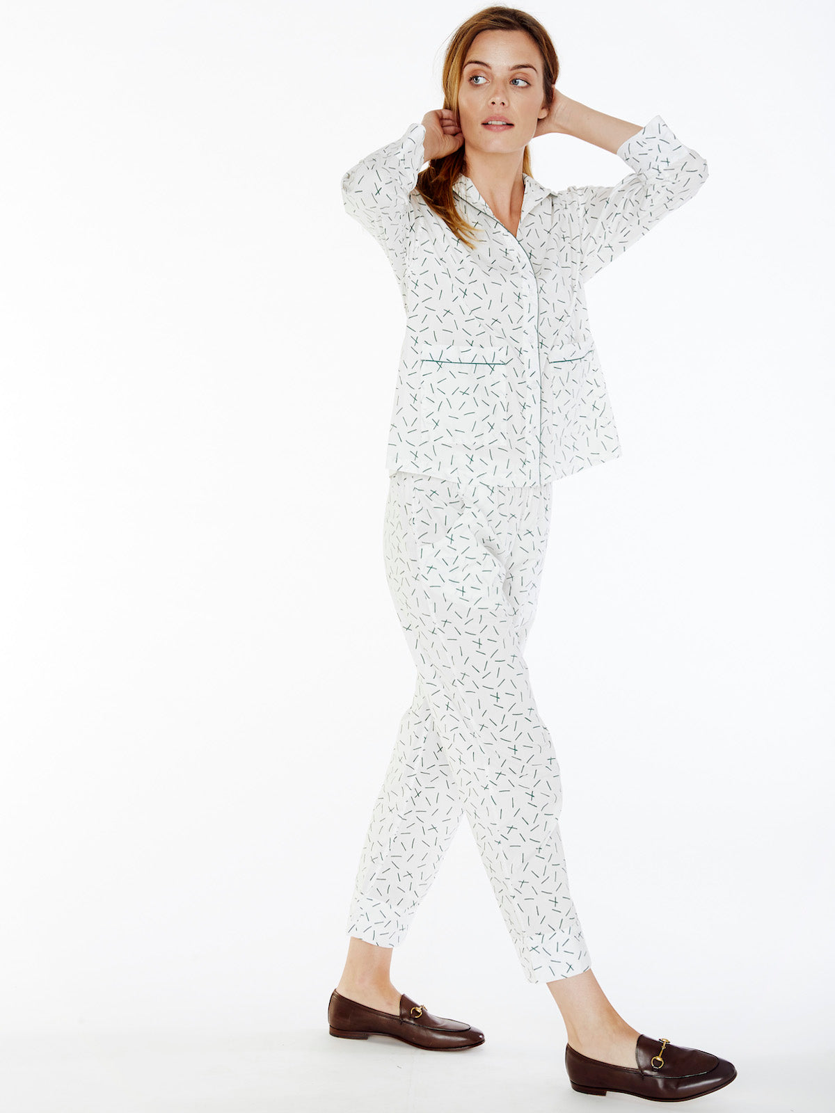 Hedge Printed Pants Set