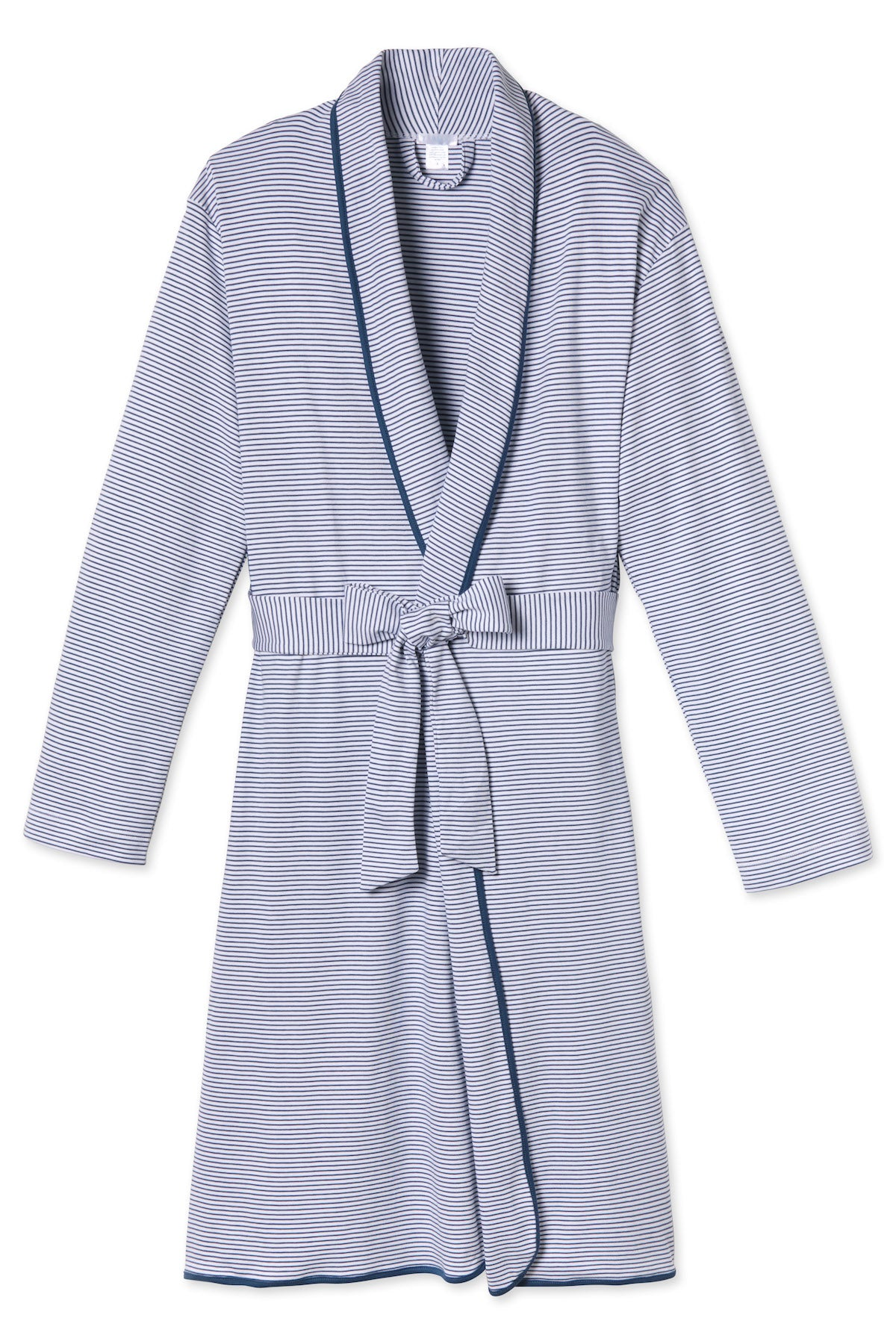 Pima Robe in Classic Navy