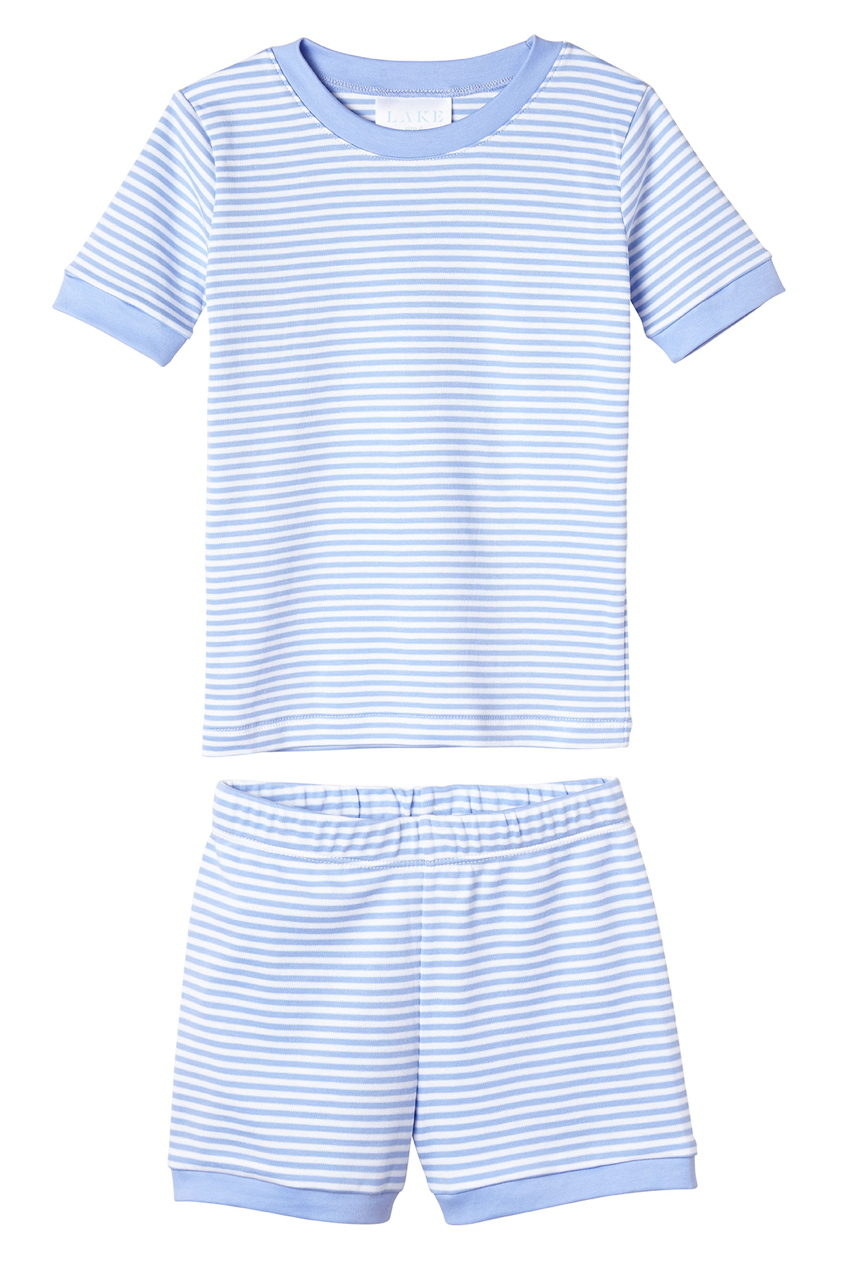 Kids Shorts Set in Hydrangea