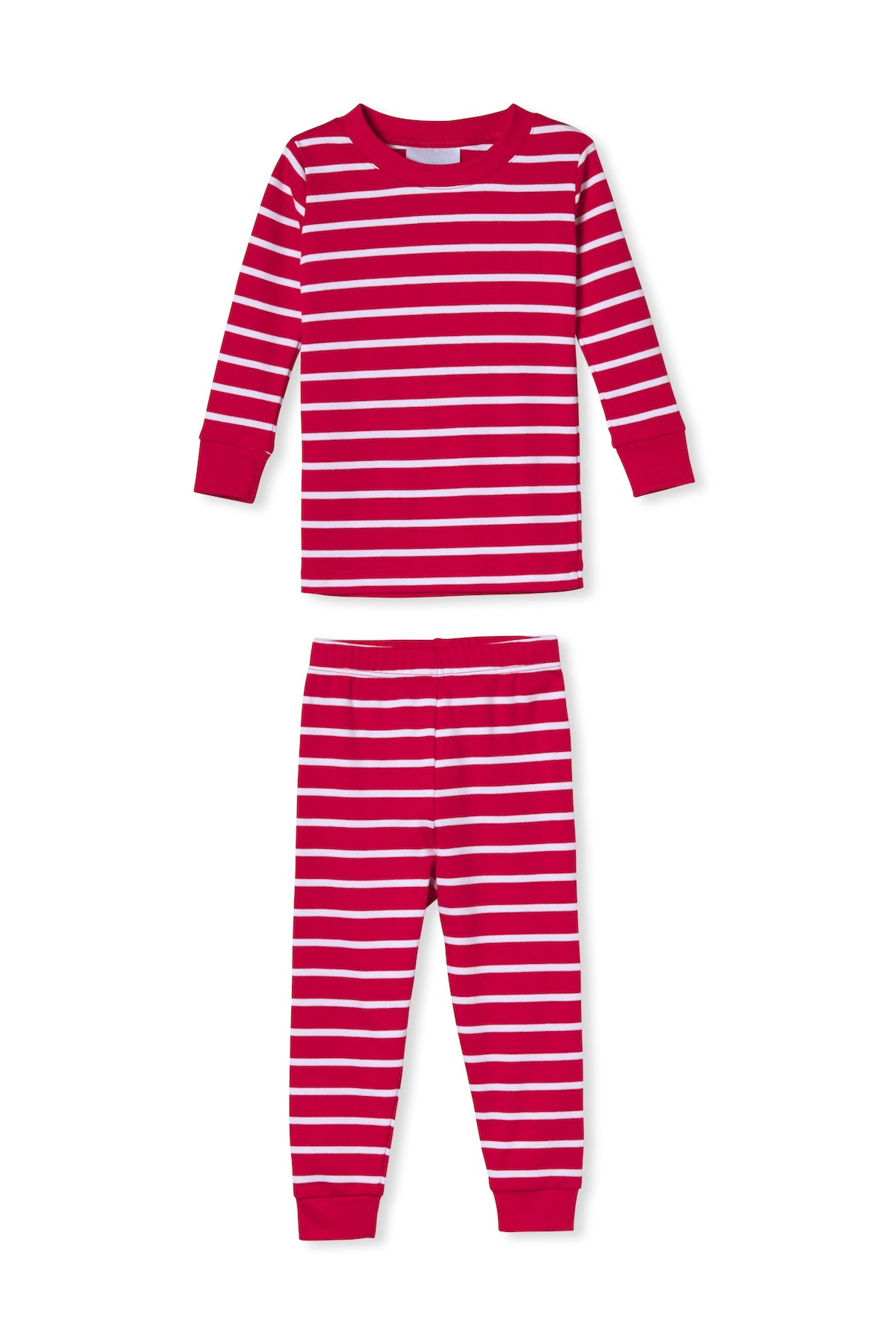Kids Long-Long Set in Cherry