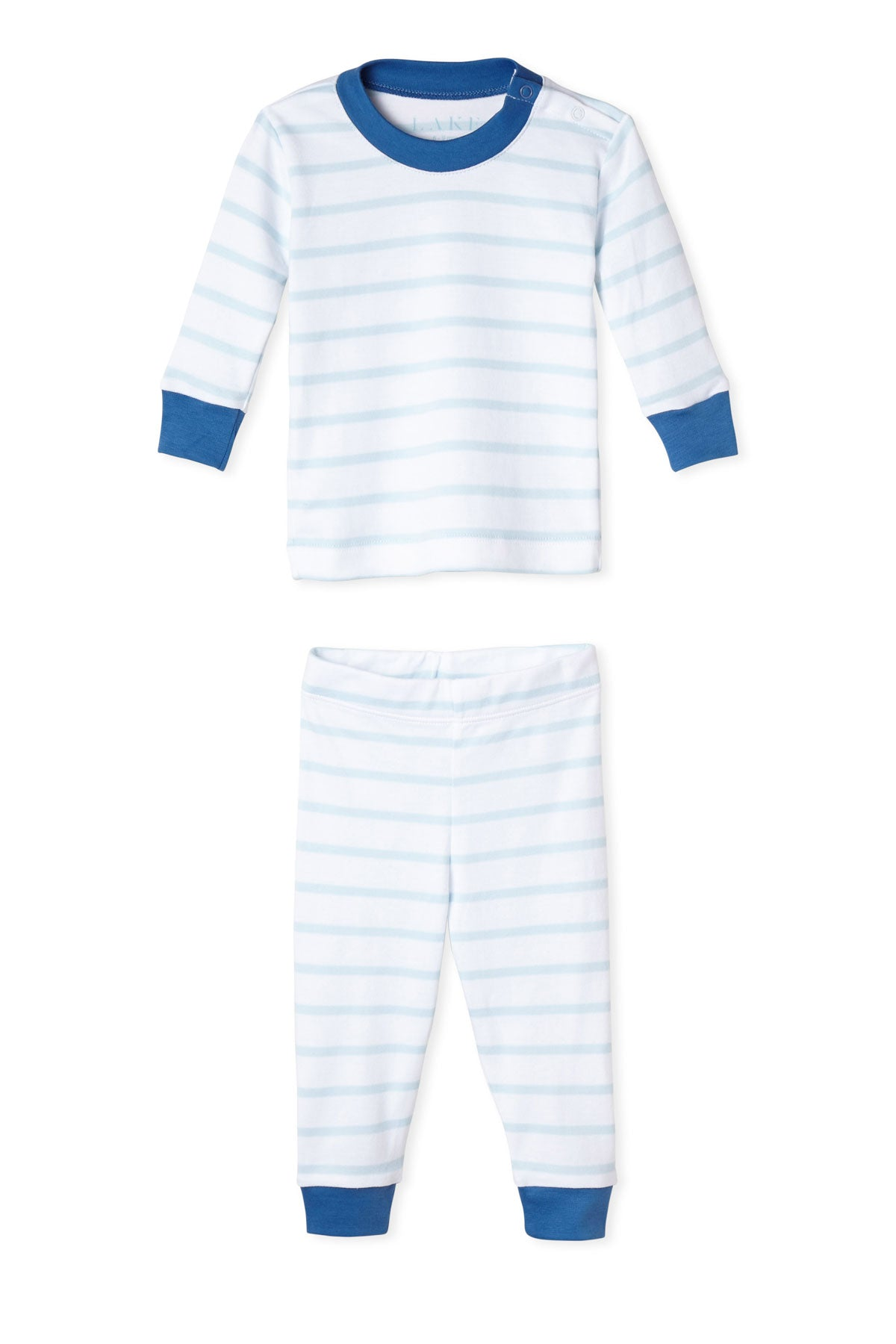 Baby Long-Long Set in Oxford Blue
