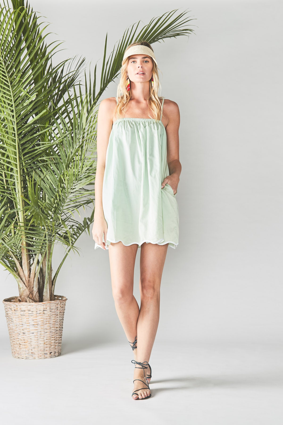 Seafoam Wave Dress