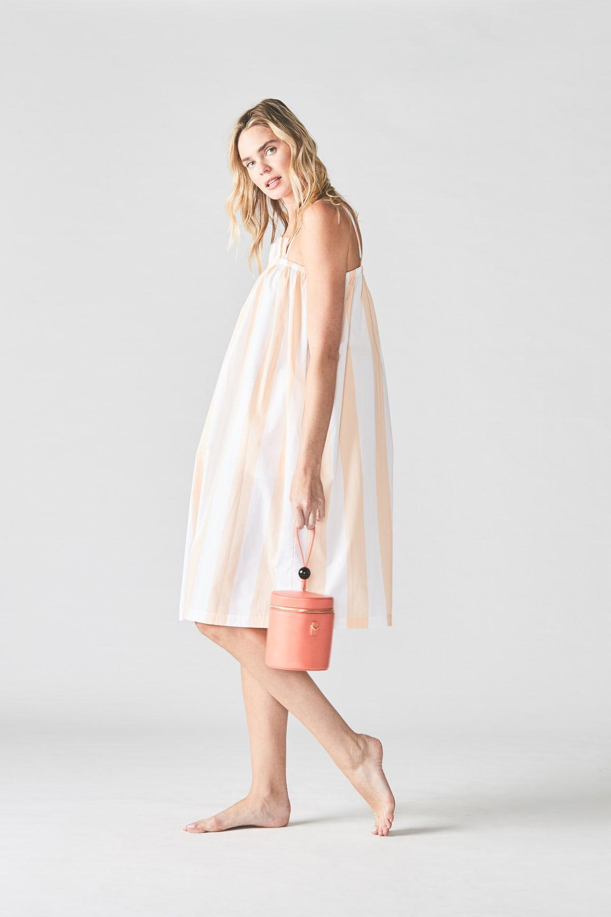 Midi Dress in Taffy